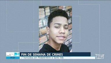 Fim de semana é violento em Santa Inês e Pindaré-Mirim - Houve sete homicídios. Um suspeito de assalto foi linchado.