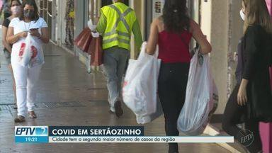 Sertãozinho, SP, tem segundo maior número de casos de Covid-19 na região de Ribeirão Preto - Cidade tem 3.279 casos e 70 mortes provocadas pela doença, de acordo com a Prefeitura.