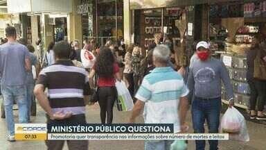 MP questiona transparência da Prefeitura de Ribeirão Preto, SP, no Plano São Paulo - Na fase amarela do programa de reabertura do estado, cidade registou na última semana 291 novos casos de Covid-19.