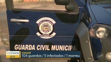 Covid-19: Paulínia tem maior índice de guardas infectados entre maiores cidades da região - Ao todo, 40 integrantes da corporação contraíram a doença no município. Levantamento foi realizado pela EPTV, afiliada da TV Globo, em dez cidades .
