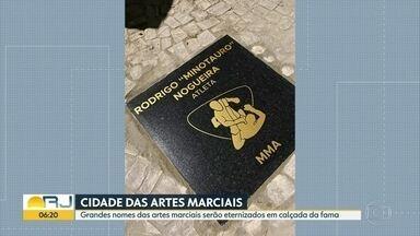 'Cidade das Artes Marciais' vai ser inaugurada em Jacarepaguá - Grandes nomes das artes marciais serão eternizados em calçada da fama, na zona oeste do Rio