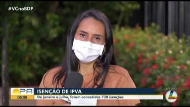 Esse ano no Pará foram concedidas 730 isenções de IPVA, saiba quem tem direito - Esse ano no Pará foram concedidas 730 isenções de IPVA, saiba quem tem direito