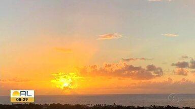 Veja as fotos do amanhecer enviadas pelos telespectadores - Imagens foram enviadas pelo Whatsapp 99403-0740.