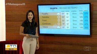 Altas temperaturas: Veja como fica o tempo nos municípios do interior do Tocantins - Altas temperaturas: Veja como fica o tempo nos municípios do interior do Tocantins