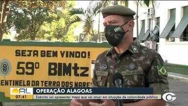 Exército apresenta tropa que vai atuar em situação de calamidade pública - Confira a reportagem.