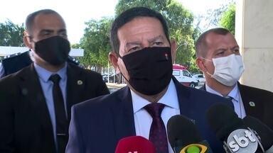 'Nós temos uma situação fiscal péssima', diz Mourão ao comentar teto de gastos - Vice-presidente falou sobre o teto de gastos na manhã desta quarta (12), e reforçou que medida é âncora da economia brasileira.