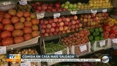 Instituto Agrícola do estado de SP aponta aumento de 4% no preço de alimentos básicos - Os dados analisados foram dos meses de janeiro a junho deste ano.