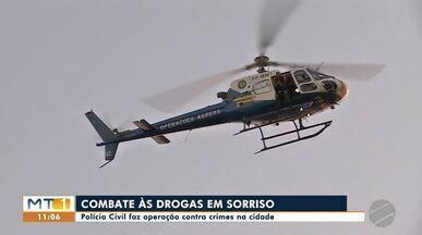 Polícia Civil de Sorriso faz operação contra o tráfico de drogas na cidade - Polícia Civil de Sorriso faz operação contra o tráfico de drogas na cidade