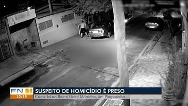 Suspeito de cometer assassinato em Pirapozinho é preso - Crime vitimou um homem de 31 anos no último domingo (9).