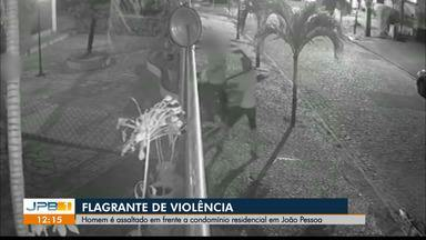 Homem é assaltado em frente a condomínio, em João Pessoa - Recomendação da polícia é não reagir a assaltos e manter a calma.