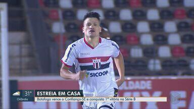 Botafogo-SP vence o Confiança por 2 a 0 na Série B - Com dois gols de Ronald, Pantera consegue a primeira vitória no campeonato nacional.