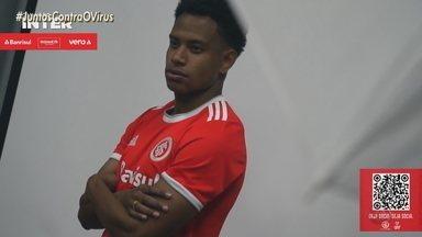 Conheça Lucas Ribeiro, o novo jogador do Inter - Assista ao vídeo.