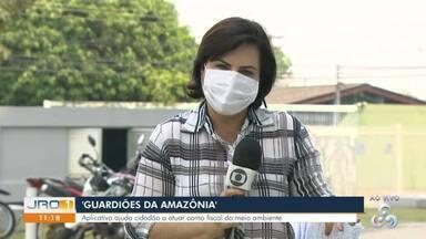 Guardiões da Amazônia - Aplicativo ajuda cidadão a atuar como fiscal do meio ambiente.