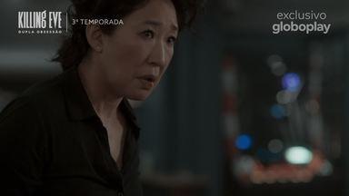 Trailer Killing Eve - Dupla Obsessão - 3ª Temporada - Acompanhe mais uma temporada da trama entre a agente secreta Eve e a assassina Villanelle.