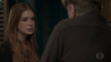 Eliza termina com Arthur e sai da casa do empresário - O diretor tenta inverter o jogo elogiando a ruiva, mas não adianta