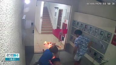 Polícia Civil vai investigar caso de mulher incendiada em Vitória - Confira na reportagem.