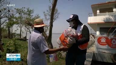 Confira exemplos de solidariedade na pandemia - Empresas revertem verba em doações no Amazonas