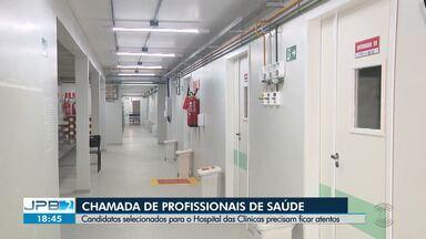 Candidatos selecionados para Hospital das Clínicas em CG precisam ficar atentos - 439 vagas foram oferecidas para vários cargos.