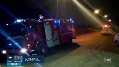 Polícia investiga explosão de bomba caseira em Joinville; giro de notícias - Polícia investiga explosão de bomba caseira em Joinville; giro de notícias