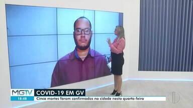 Governador Valadares registra cinco mortes por Covid-19 em 24 horas - Veja como está a situação na região.