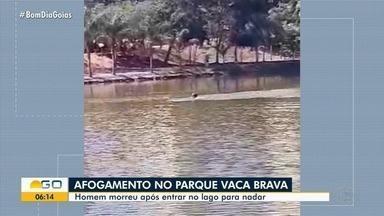 Homem morre após se afogar enquando nadava no lago do Parque Vaca Brava; vídeo - Ele chegou a ser socorrido, mas não resistiu aos ferimentos.