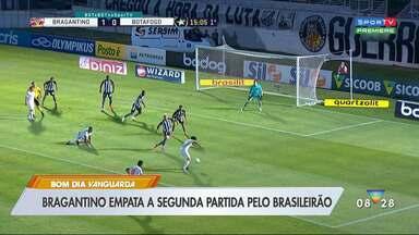 Bragantino fica no empate contra Botafogo no retorno ao Nabi - Massa Bruta sai na frente, perde chances e vê o Alvinegro empatar