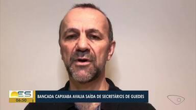 Bancada capixaba anuncia pedidos de demissão de dois secretários do Ministério da Economia - Veja a reportagem.