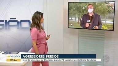 Guarda Municipal de Dourados prende 72 suspeitos de violência doméstica - Guarda Municipal de Dourados prende 72 suspeitos de violência doméstica