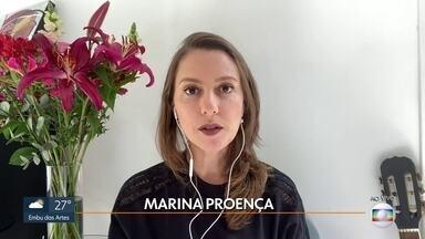 Marina Proença esclarece dúvidas sobre trabalho e empreendedorismo - A especialista falou sobre a importância de ter uma reserva para emergências como a pandemia.