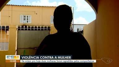 Mulher é agredida na Serra, no ES - Assista a seguir.