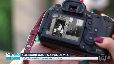 Fotógrafa se sensibiliza e faz campanhas de doação durante a pandemia - Vamos conhecer o trabalho voluntário de Mariana Porto para ajudar a quem precisa, nesse momento de muitas dificuldades.