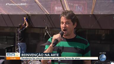 Ator Marcelo Serrado apresenta espetáculo musical em Salvador - Ele está sendo destaques no reprise da novela Fina Estampa.