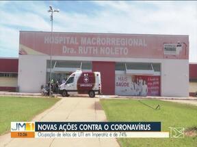 Covid-19: Ocupação de leitos de UTI em Imperatriz é de 74% - Confira os destaques do JM1 deste sábado (15).