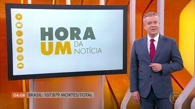 Brasil chega a marca de 107.879 mil mortos pela Covid-19 - Dados são do consórcio de veículos de imprensa.