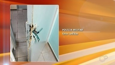 Polícia flagra grupo com equipamentos furtados em escola - Quatro pessoas foram detidas na noite de sábado (15), em São José do Rio Preto, depois de invadirem uma escola no bairro Santo Antônio.