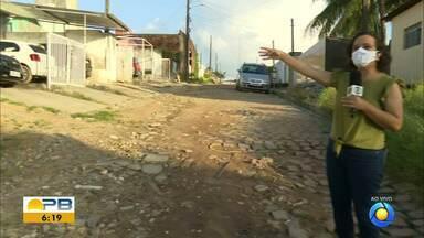 População denuncia péssimas condições de rua, em João Pessoa - Moradores pedem solução