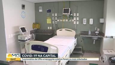 Alerta amarelo e resultado parcial de inquérito sorológico em Belo Horizonte - Prefeitura divulga trabalhadores mais infectados pela COVID-19, até o momento, em testagens na capital. E também que depois de nove semanas a cidade está em alerta amarelo.