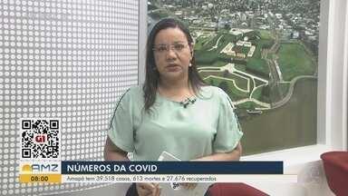 Boletim: Amapá tem 39,5 mil casos confirmados do novo coronavírus e 613 mortes - Boletim: Amapá tem 39,5 mil casos confirmados do novo coronavírus e 613 mortes