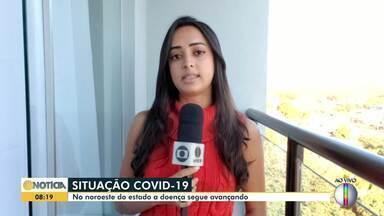 Confira a situação da covid-19 no Noroeste de Minas Gerais - A doença segue avançando e fazendo vítimas.