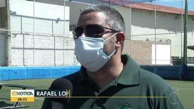 Em Montes Claros, empresários no ramo de quadras society pedem retorno de atividades - Eles estão há cinco meses sem trabalhar por causa da pandemia.