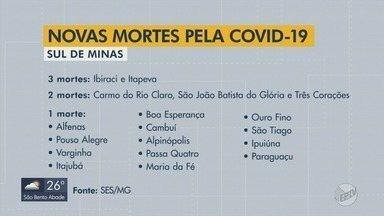 Casos de Covid-19 dobram para 14 mil em menos de um mês no Sul de Minas - Casos de Covid-19 dobram para 14 mil em menos de um mês no Sul de Minas