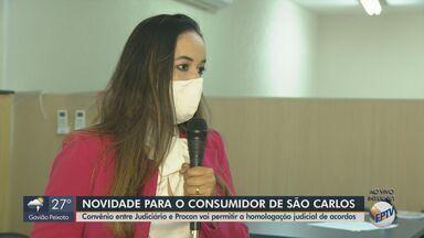 Convênio entre Judiciário e Procon de São Carlos permite a homologação judicial de acordos - Com a medida, o consumidor passa a ter uma maior garantia de que o acordo será cumprido.