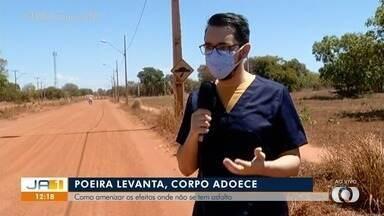 Saiba como evitar doenças respiratórias durante o tempo de poeira no Tocantins - Saiba como evitar doenças respiratórias durante o tempo de poeira no Tocantins