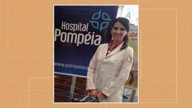 Caxias do Sul registra primeira morte de profissional de saúde - Camila Fiorio tinha 37 anos e trabalhava como fisioterapeuta no Hospital Pompeia.