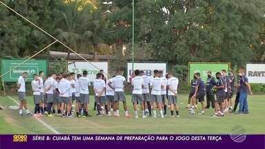 Cuiabá teve uma semana para se preparar para encarar o Confiança - Cuiabá teve uma semana para se preparar para encarar o Confiança.