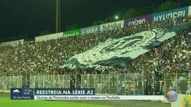 XV de Piracicaba faz últimos ajustes na equipe e se prepara para volta da Série A2 - O Nhô Quim volta a campo nesta quarta-feira, contra o Votuporanguense, às 16h, no Barão da Serra Negra.