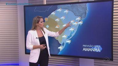 Terça-feira (18) terá tempo instável e previsão de geada no Rio Grande do Sul - Assista ao vídeo.