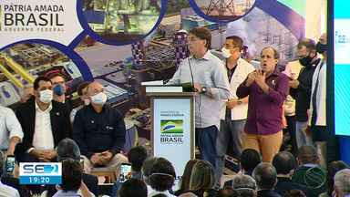Bolsonaro faz primeira visita oficial a Sergipe - Bolsonaro faz primeira visita oficial a Sergipe.