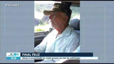 Idoso desaparecido é encontrado no Pará - Idoso desaparecido é encontrado no Pará