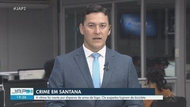 Homem que respondia por homicídio morre baleado em Santana - Benedito de Oliveira Braga morreu após ser baleado por dois homens que se aproximaram dele de bicicleta. O crime aconteceu próximo ao terminal de ônibus do município.